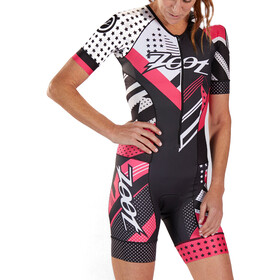 Zoot LTD Combinaison de triathlon manches courtes Aero Femme, team